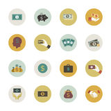 Money circle icon Royalty Free Stock Photo