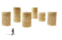 Money city Stock Images