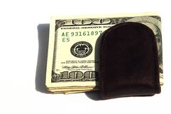 Money Clip II. A money clip with U.S. currency royalty free stock image
