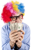 Money clown Stock Photo