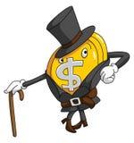 Money Coin Funny Royalty Free Stock Photo