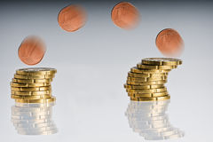 Money coins Stock Photography