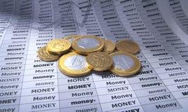 Money coins Stock Image