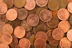 Money. Coins background Stock Photography
