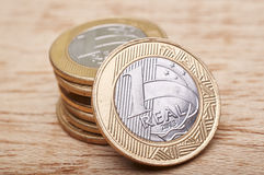 Money coins Brazilian Stock Images