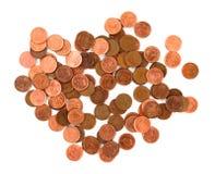 Free Money. Coins On White Background Stock Image - 7079571