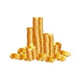 Money coins. Vector Stock Photography