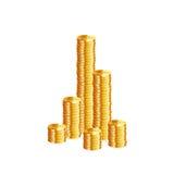 Money coins. Vector Stock Photos