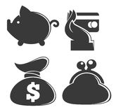 Money collection Stock Image