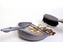 Money Collector Royalty Free Stock Images