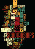 Money For College Where Is It And How Do I Get It Text Background Word Cloud Concept Stock Photography