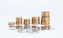 Money columns Royalty Free Stock Photos