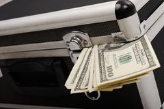 Money coming out Royalty Free Stock Photo