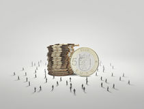Money concept Royalty Free Stock Image