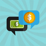 Money concept design Stock Images