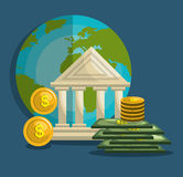Money concept design Royalty Free Stock Photography