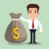Money concept design. Illustration eps10 graphic Royalty Free Stock Image