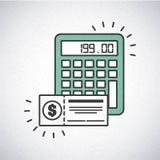 Money concept design. Illustration eps10 graphic Stock Photography