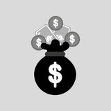 Money concept design. Illustration eps10 graphic Royalty Free Stock Photography