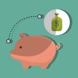 Money concept design. Illustration eps10 graphic royalty free illustration