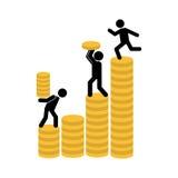 Money concept. Design, vector illustration eps10 graphic Stock Photos