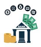 Money concept. Design, vector illustration eps10 graphic Stock Images