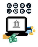 Money concept Royalty Free Stock Images