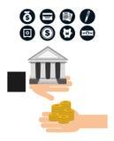 Money concept. Design, vector illustration eps10 graphic Royalty Free Stock Photo
