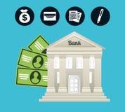 Money concept. Design, vector illustration eps10 graphic Stock Image