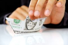 Money concept Royalty Free Stock Photography