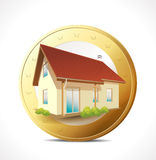 Money concept - own house Stock Photography