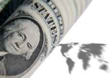 World currency Stock Photography