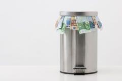 Money concept - throw money Royalty Free Stock Photography