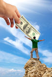 Money conception Stock Photos
