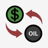 Money convert icon. USD. Flat design style Stock Photos