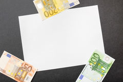 Money copy Royalty Free Stock Photos