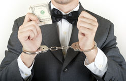 Money corruption Stock Photography