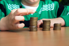 Money counting Royalty Free Stock Images
