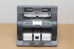 Money counting Machine Royalty Free Stock Photography