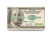 Money Credit Card. Isolated on White Background Royalty Free Stock Image