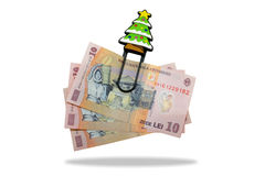 Money crisis. Is Christmas going to be tight this year Stock Photography
