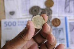 MONEY_CURRENCY DANOIS Photo libre de droits