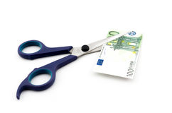 Money cut Stock Photo