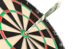 Money darts Royalty Free Stock Photo