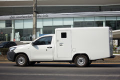 Money delivery Pickup Truck Stock Photos