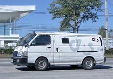 Money delivery Van Stock Photography