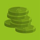 Money design. Financial item icon. White background, isolated illustartion. Money concept with icon design,  illustration 10 eps graphic Stock Photography
