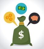 Money design. Over white background,vector illustration vector illustration