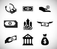 Money design. value icon. Flat illustration , vector Stock Photos