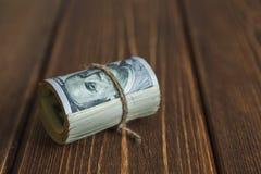 Money on the desk Stock Image